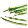 Yellow & Green Striped, Flexible, Flame Retardant Tubing Shrink Ratio 2:1,3:1(RCYG)